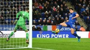 Harry Maguire David de Gea Leicester City Manchester United