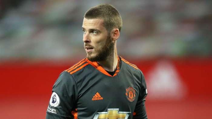 David de Gea Manchester United 2020-21