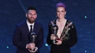 Megan Rapinoe Lionel Messi The Best 2019
