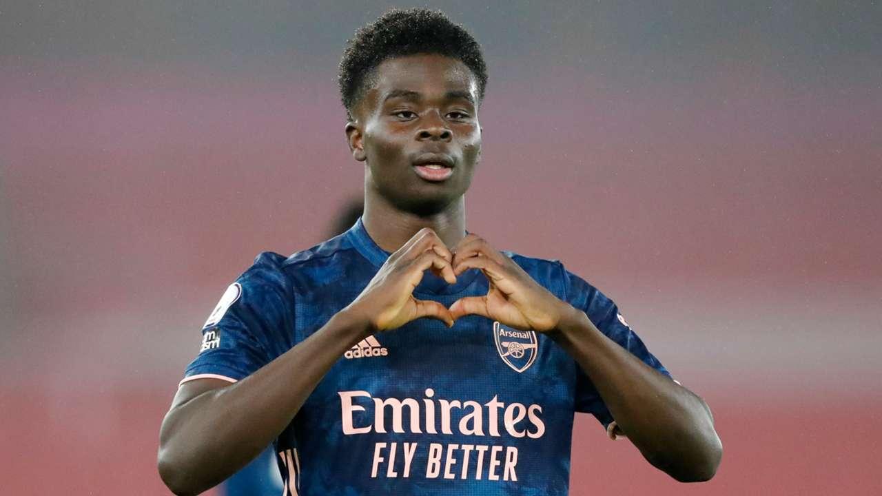 Bukayo Saka Arsenal Southampton