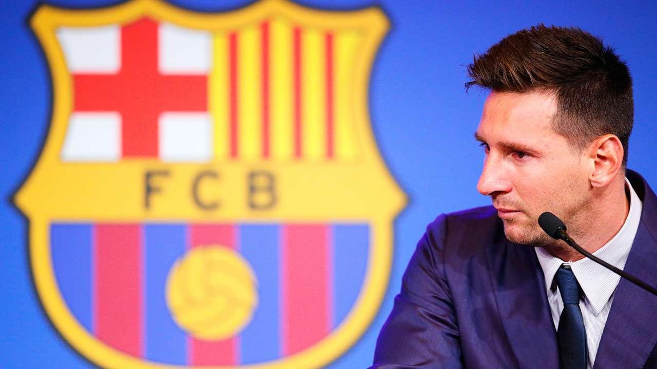 Lionel Messi Barcelona Press Conference