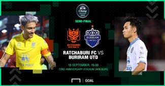 Preview Chang FA Cup : ราชบุรี มิตรผลฯ - บุรีรัมย์ ยูไนเต็ด (รอบรองชนะเลิศ)