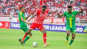 Yanga SC vs Simba SC of Tanzania.