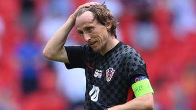 Luka Modric Croatia 2021