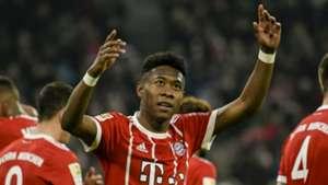David Alaba, Bayern Munich, 17/18