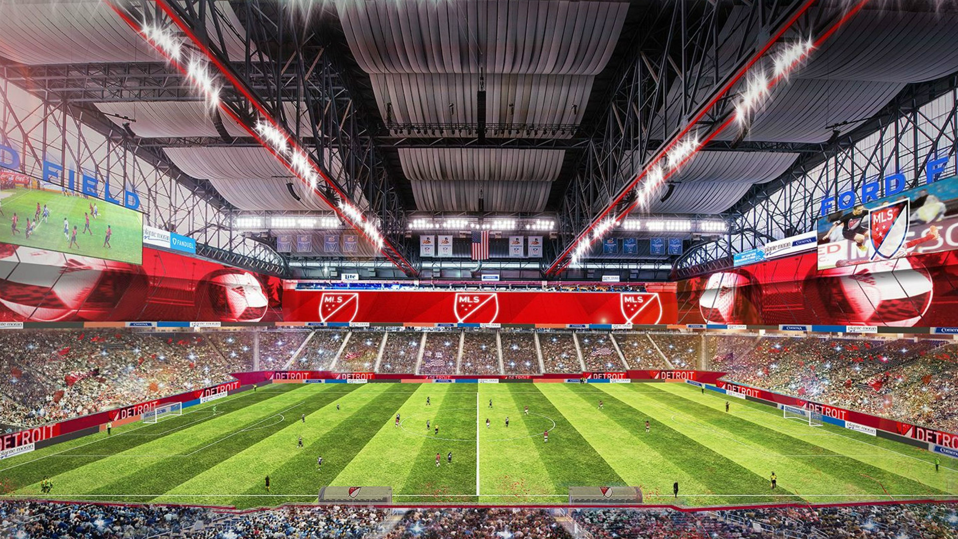 Detroit MLS Expansion Ford Field