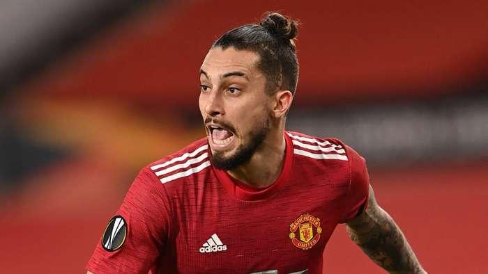 Alex Telles Manchester United 2020-21