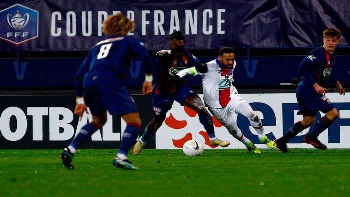 Neymar Caen PSG 1022021