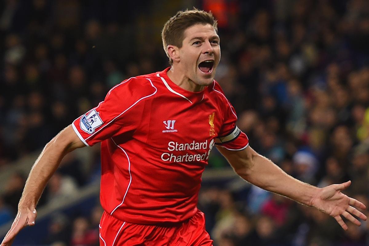 Steven Gerrard Leicester City Premier League 2014-15
