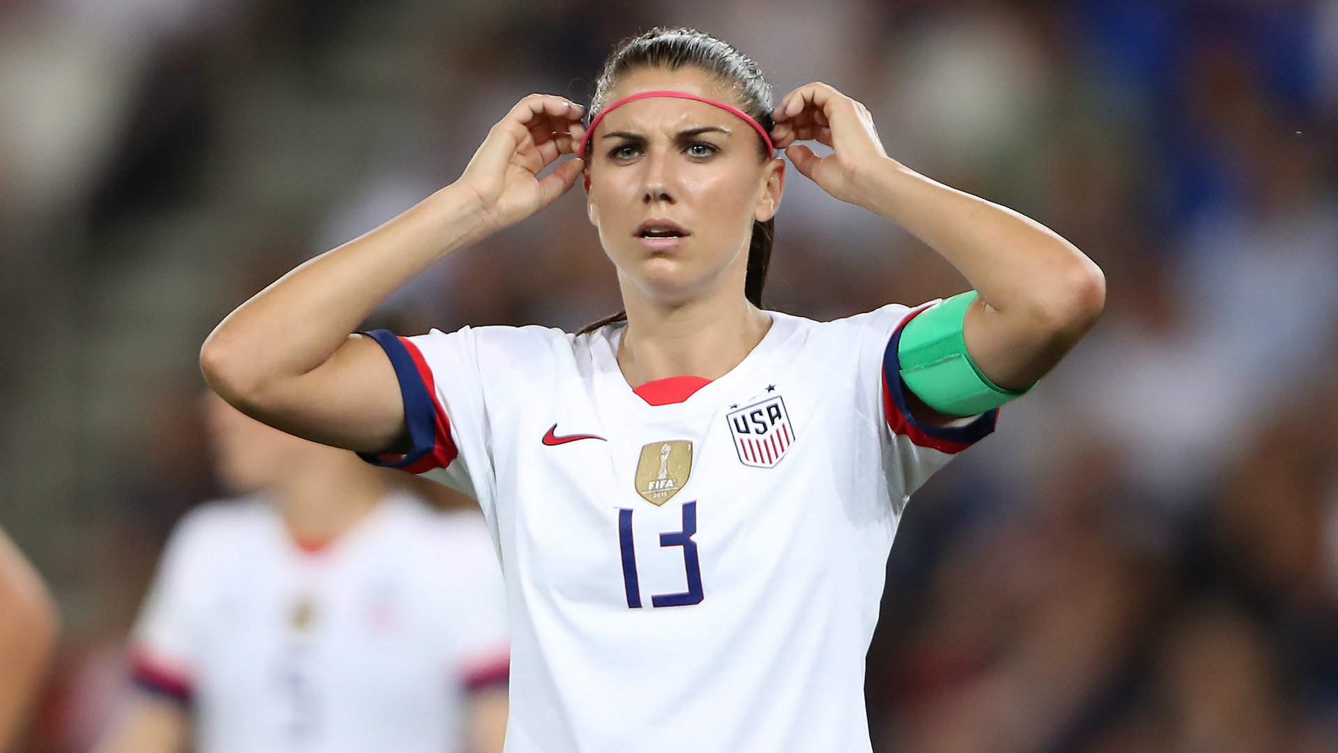 U.S. Soccer star Alex Morgan gives birth to first child