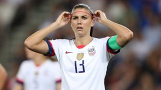 Alex Morgan France vs USWNT Women's World Cup 2019