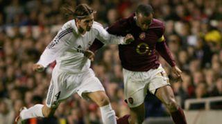 Sergio Ramos Real Madrid Arsenal