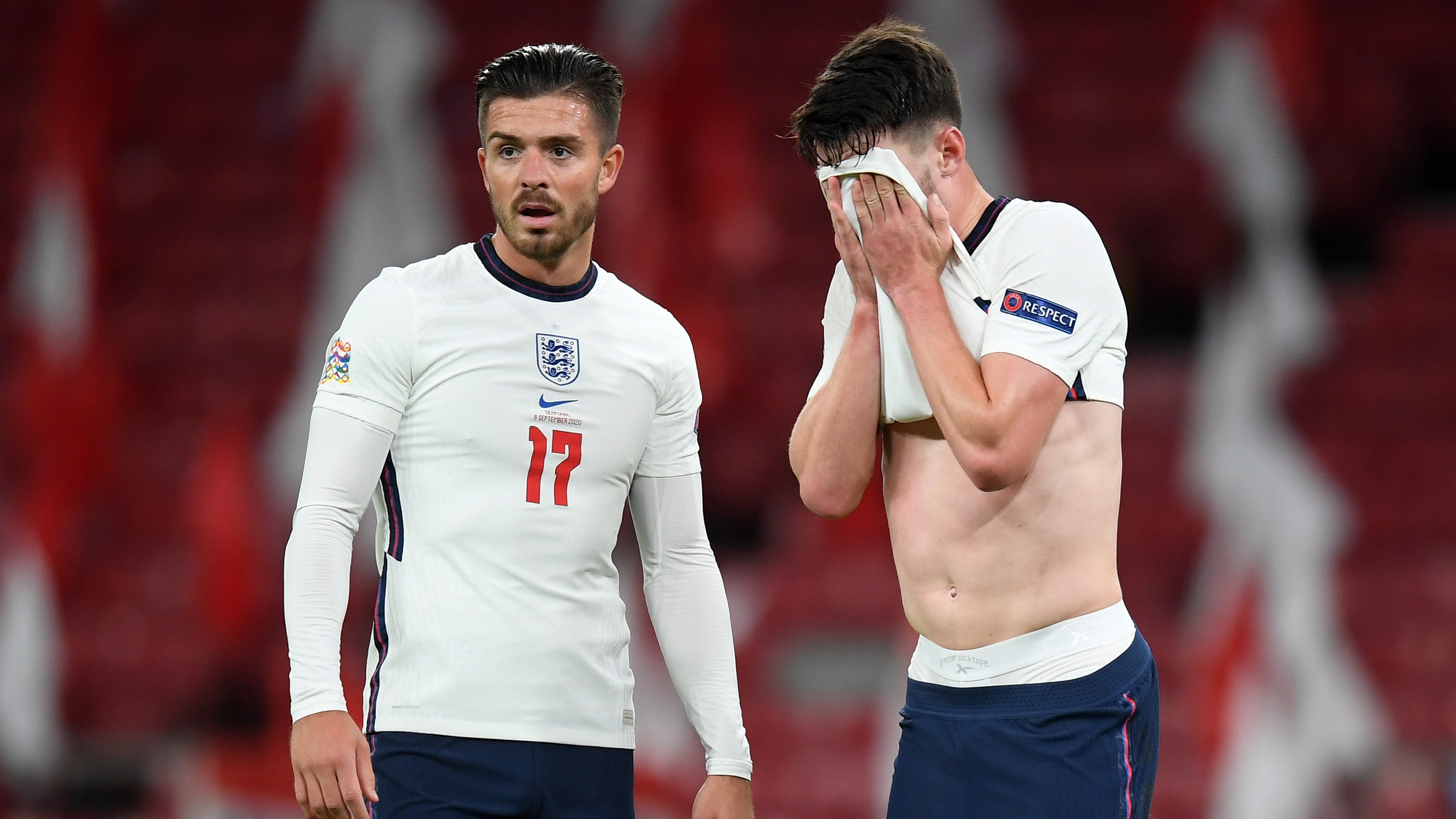 Grealish 'emotional' after making long-awaited England debut in draw against Denmark