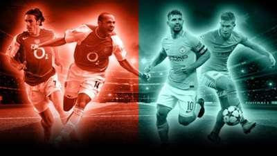 Arsenal 2003/04 vs Manchester City 2017/18