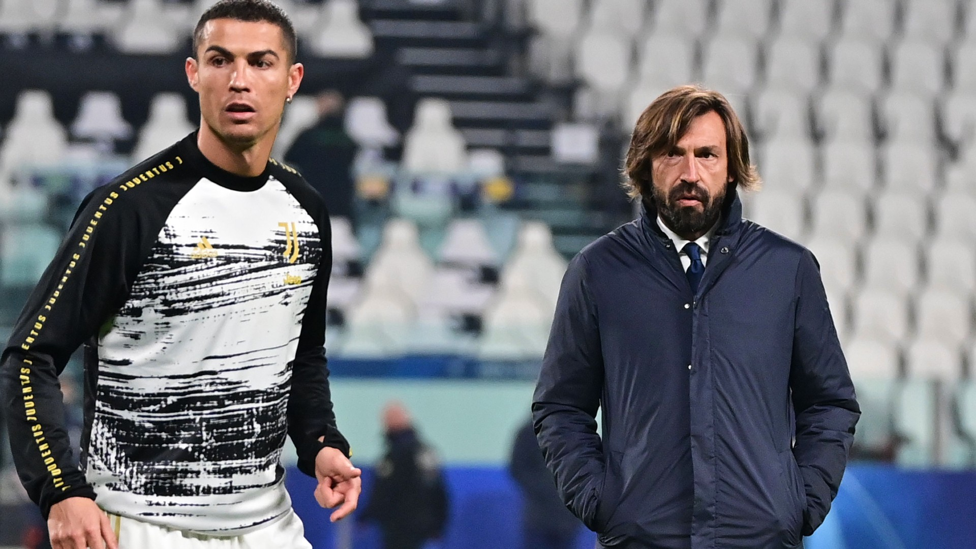 'There's no clause stopping me from subbing Ronaldo out' - Pirlo defends taking Juventus star off pitch in win over Inter