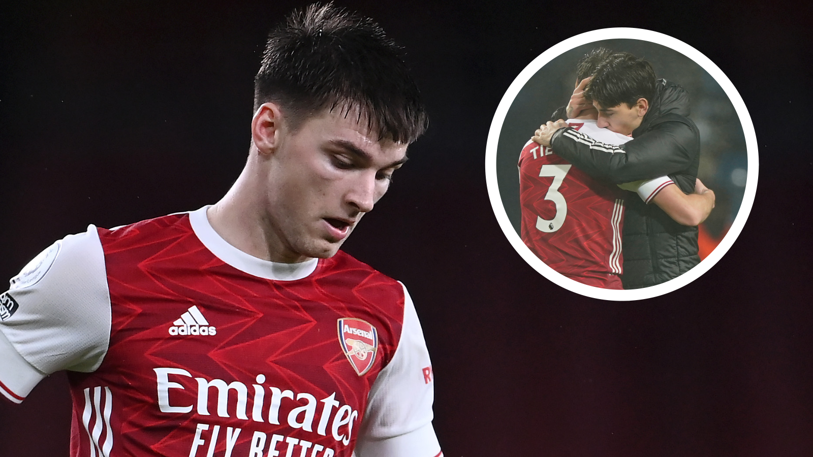 Arsenal star Tierney reveals the changing room chat with Bellerin which 'changed everything'
