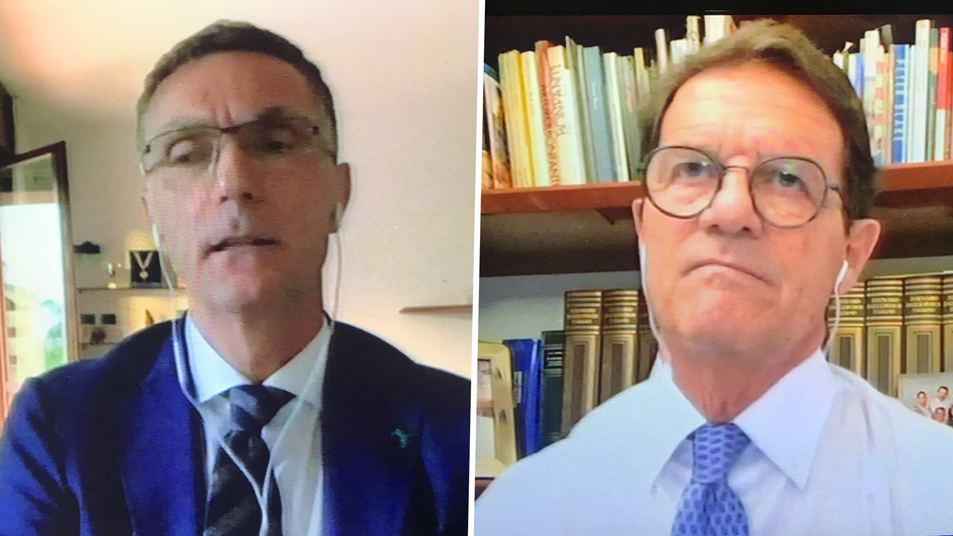 Clamoroso litigio Bergomi vs Capello a 'Sky': ''Vuoi l'applauso?''