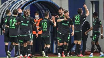 Konyaspor celebration