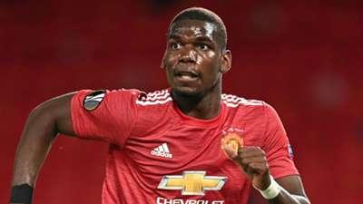 Paul Pogba Manchester United 2020