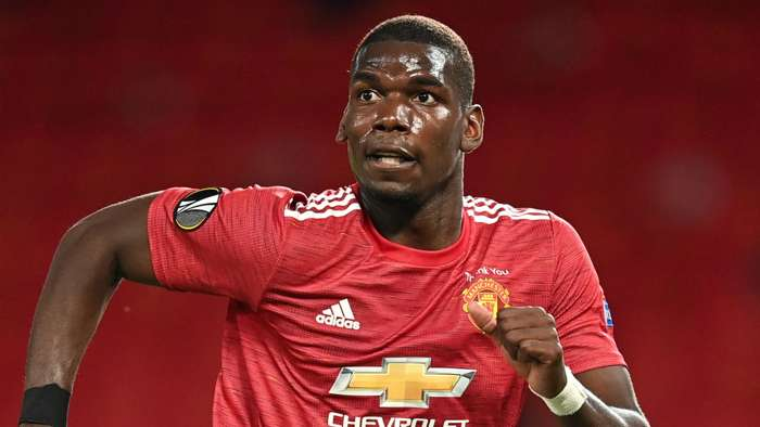 Paul Pogba Manchester United 2020