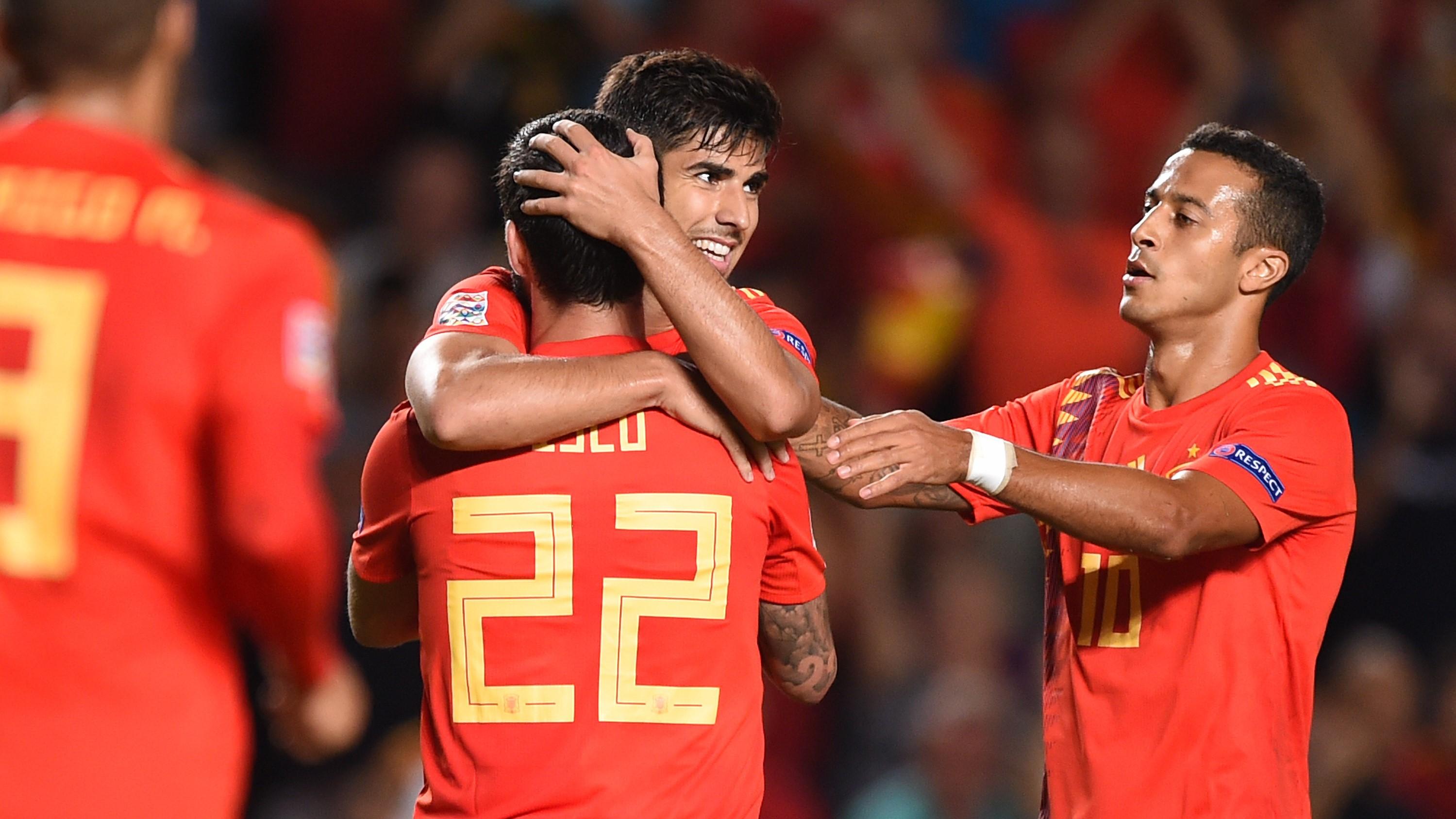 Spanien Vs England