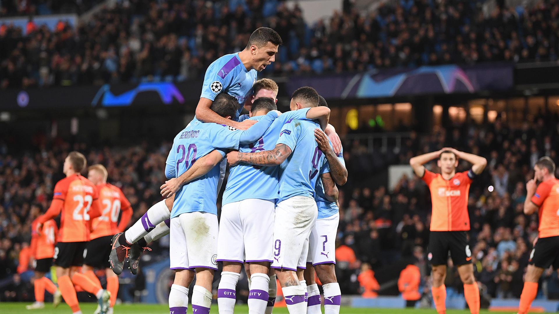 Manchester City Champions League 2019-20
