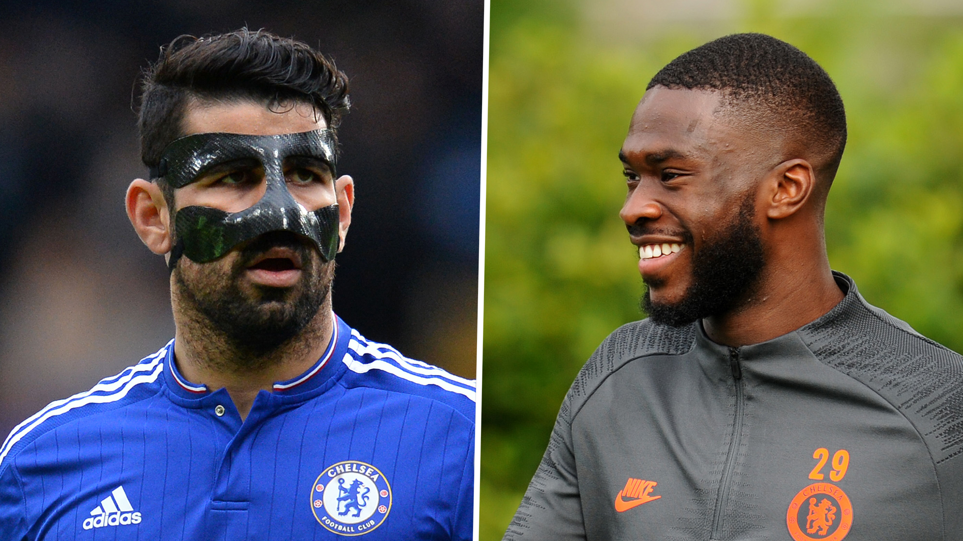 Chelsea defender Fikayo Tomori: The day I broke Diego Costa's nose