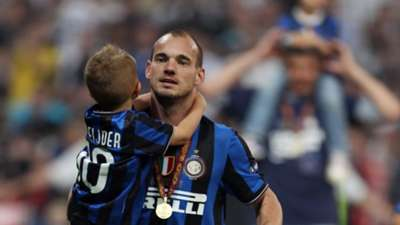 Wesley Sneijder 2010 Champions League final