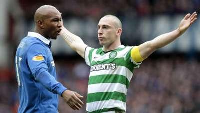 El Hadj Diouf Rangers Scott Brown Celtic 2011