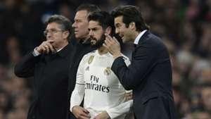 Santiago Solari Isco Real Madrid Valencia La Liga 01122018