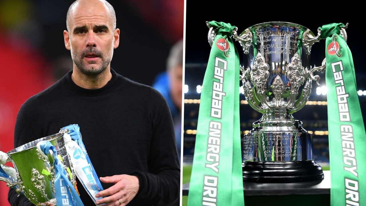 Pep Guardiola Carabao Cup Manchester City