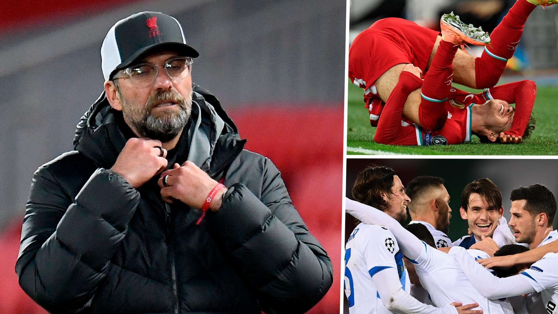 Liverpool 0-2 Atalanta: Jurgen Klopp's men stunned by second-half double