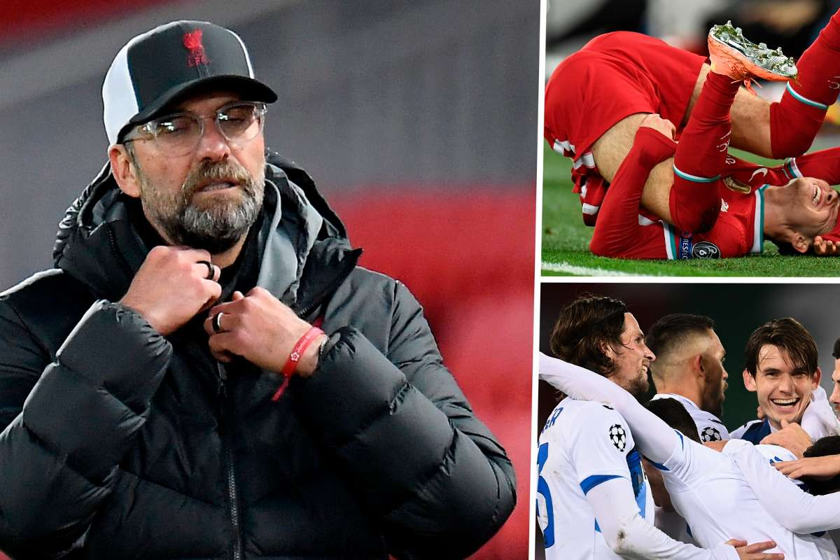 Klopp's worst nightmare: Deadly December awaits Liverpool after abysmal  Atalanta showing