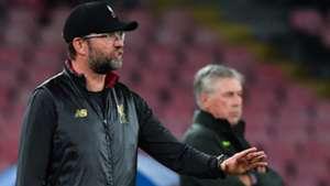 Jürgen Klopp Liverpool Carlo Ancelotti Napoli Champions League 2018