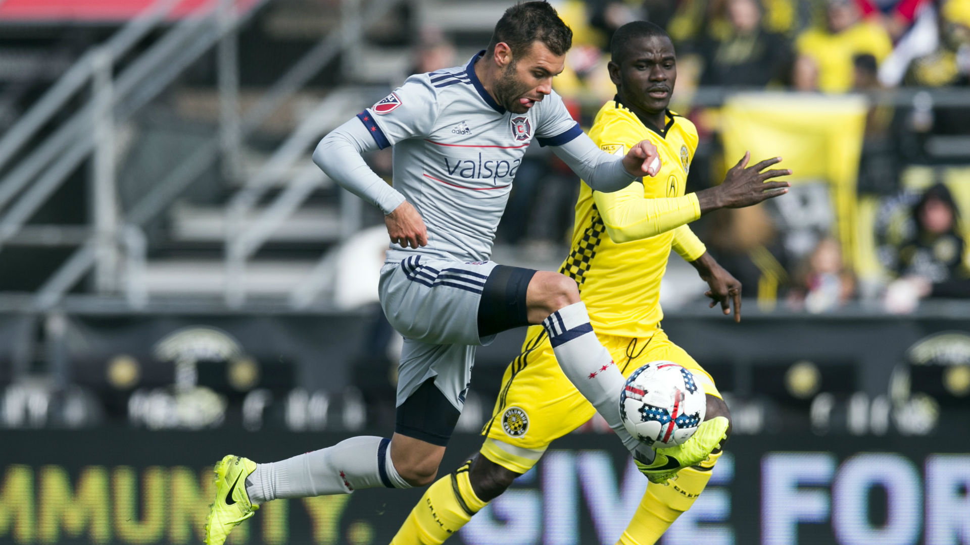 Columbus Crew captain Jonathan Mensah happy to be back for some 'fresh air' in training