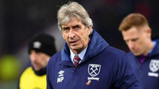 Manuel Pellegrini West Ham 2019-20