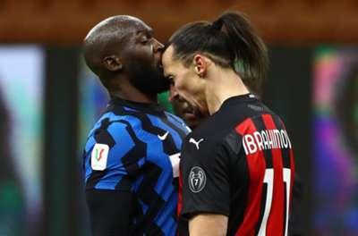 Romelu Lukaku & Zlatan Ibrahimovic. Inter vs AC Milan 01.26.2021