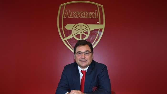 Raul Sanllehi Arsenal