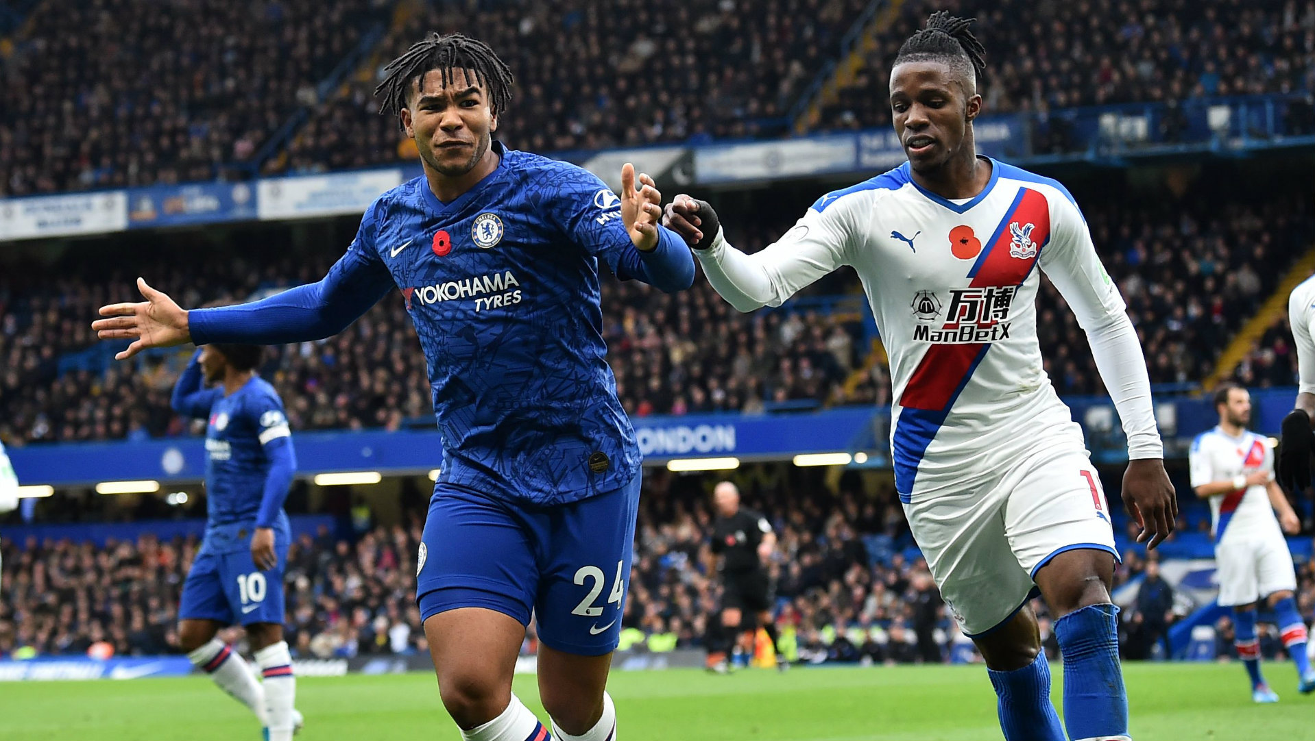 Chelsea fans praise Reece James after superb first start in Palace win