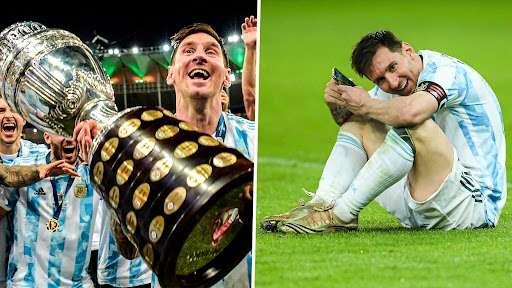 Lionel Messi, Argentina split