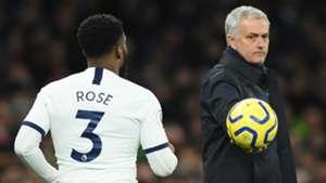 Danny Rose Jose Mourinho Tottenham 2019-20