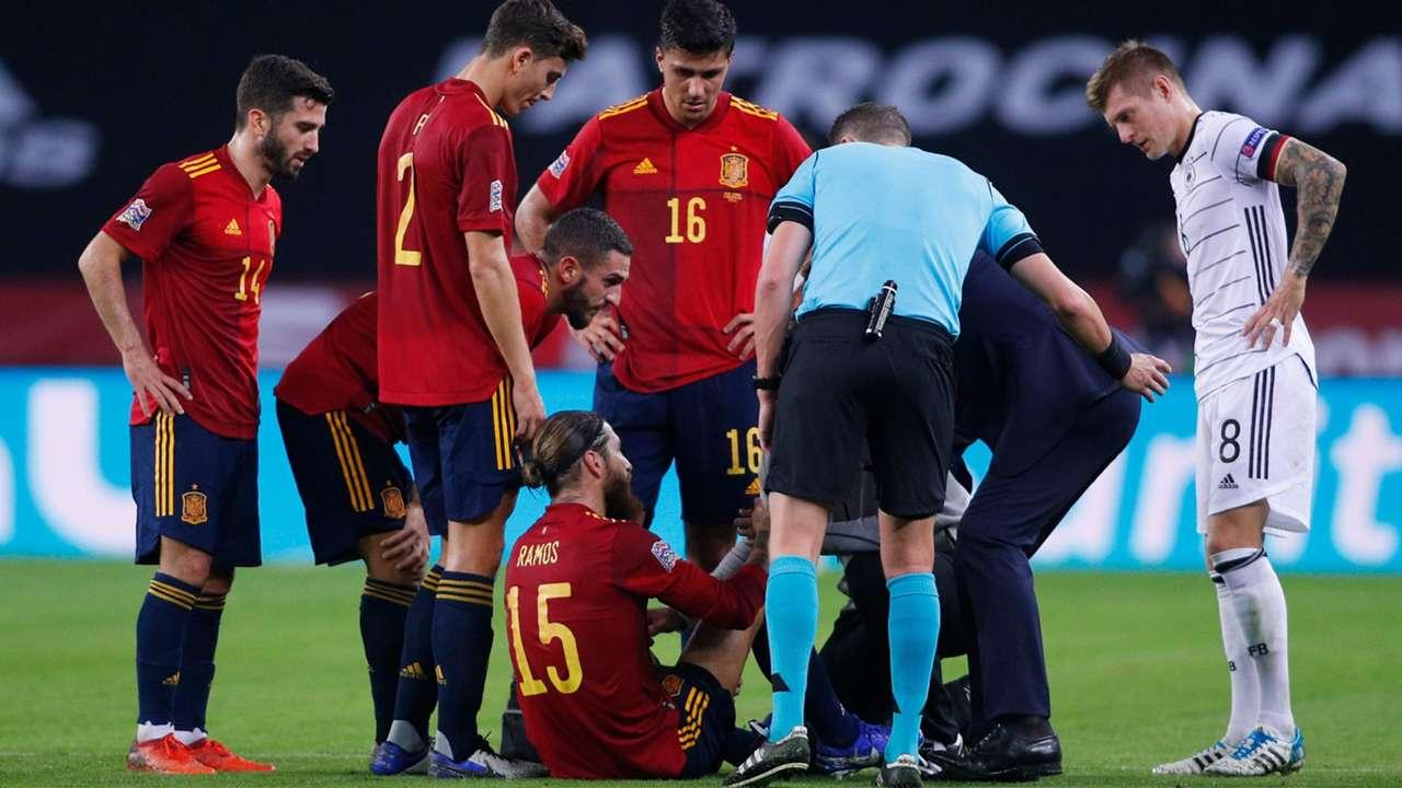 Ramos Injury Spain 2020
