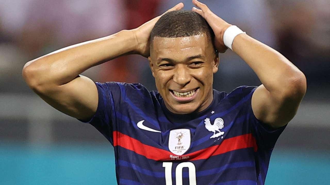 Kylian Mbappe France Switzerland UEFA Euro 2020 28062021