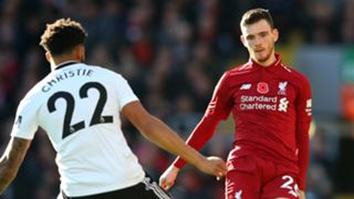 Andy Robertson Liverpool 2018-19