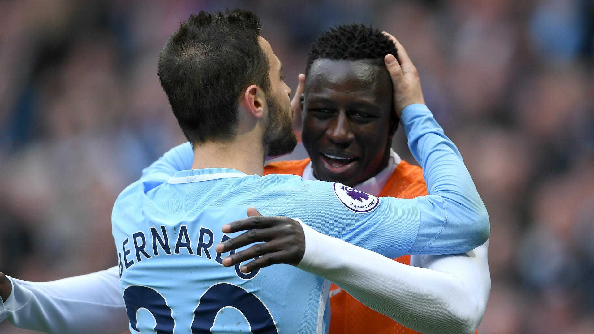 Manchester City boss Guardiola backs Bernardo after controversial tweet involving teammate Mendy