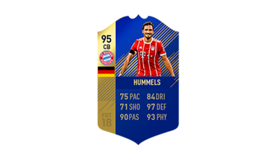 FIFA 18 Ultimate Team of the Season Hummels