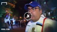 GFX VIDEO REAL MADRID SUPPORTERS ANGRY