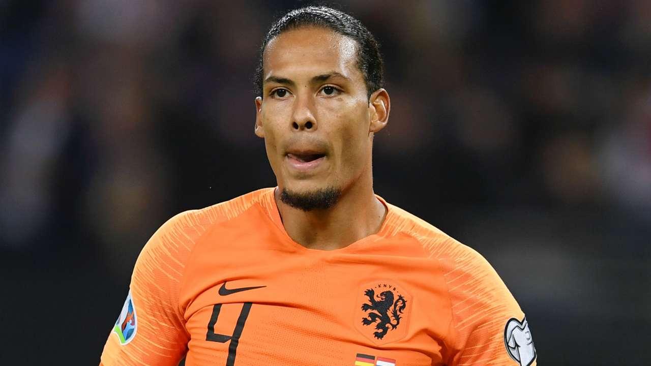 Virgil van Dijk Netherlands 2019