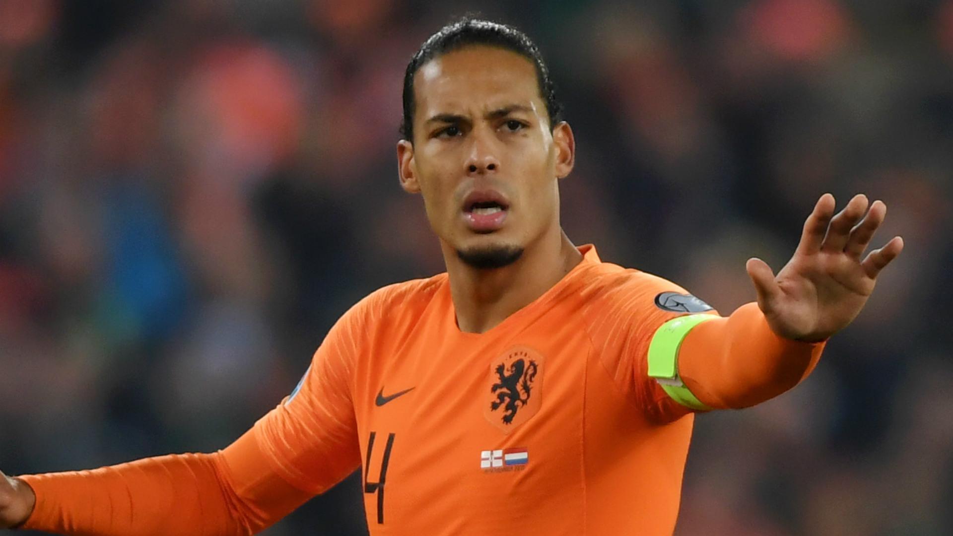 Video: Van Dijk makes no excuses for Dutch defeat to Italy