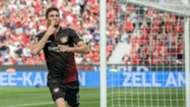 Lucas Alario. Bayer Leverkusen Hannover 12052018